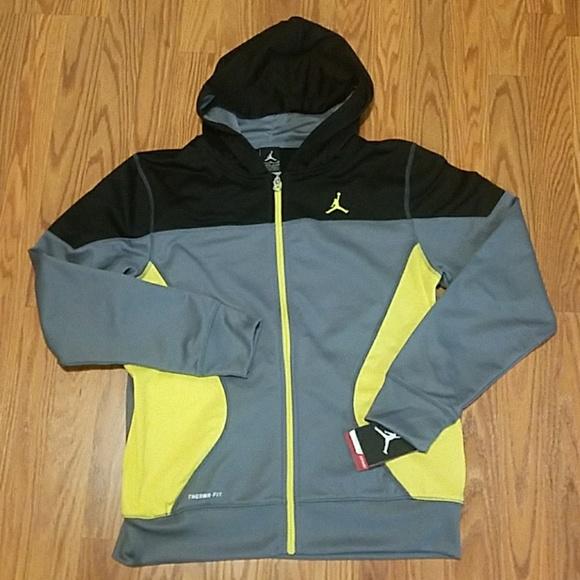 e1780bd76ff25a Boys Nike Jordan Junpman Zip-Up sweatshirt